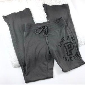 Victoria's Secret Pink Gray Sweatpants Size S